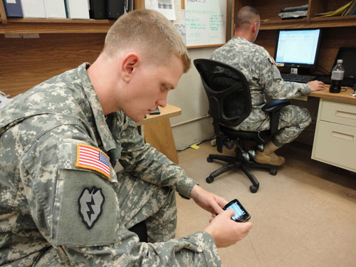 """Senior commanders are now often blogging, some awkwardly, some with enthusiasm."""