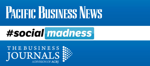 Pacific Business News Social Madness