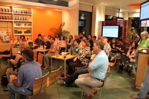 Full house for the October 9, 2009 Social Media Club Hawaii at ING Direct in Waikiki, Honolulu.