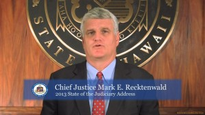 Hawaii Chief Justice Mark Recktenwald