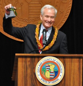 Honolulu Mayor Kirk Caldwell