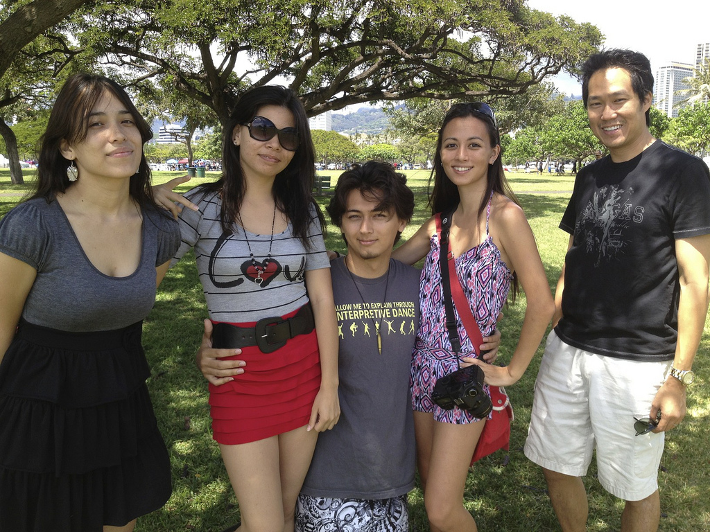 Hawaii Geek Meet at Ala Moana Park